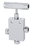 3-Way, 2 Inlet Ports Needle Valves - IPT Series