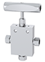 3-Way, 2 Outlet Ports Needle Valves - IPT Series